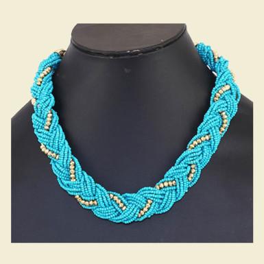 Buy Beautiful Sky Blue Necklace
