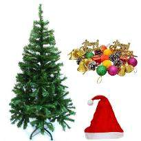 Santa Cap with Christmas Tree