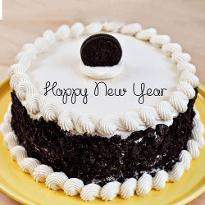 Exotic New Year Cake