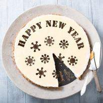 Delightful New Year Cake