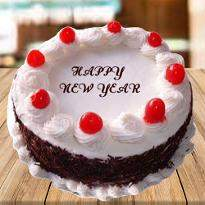 New Year Cherry Cake