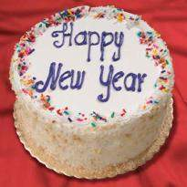 Joyful New Year Cake