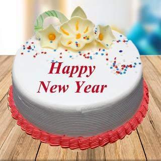 happy new year cake winni