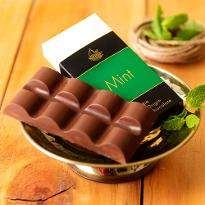 Artisanal Mint Milk Chocolate Bar Set of 2