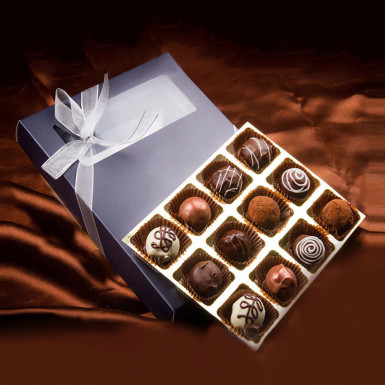 Buy Belgian Style Pralines box of 12