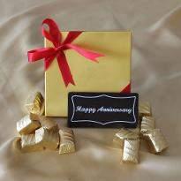 Happy Anniversary Bar with Classic Truffles