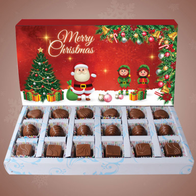 Buy Christmas Greetings Chocolates
