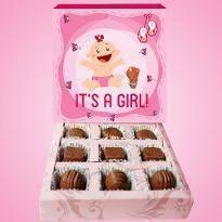 Luxurious Baby Girl Chocolates