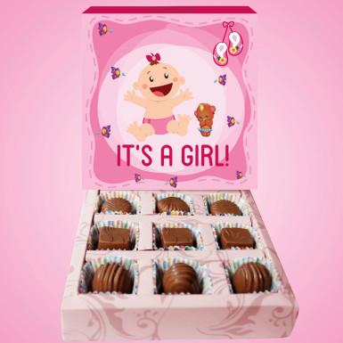 Buy Luxurious Baby Girl Chocolates