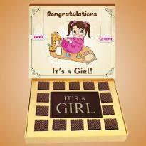 Chocolates for Baby Girl