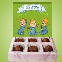 Baby Boy Chocolates