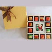 Christmas  Edible Chocolate Message   Santa Claus