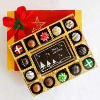 Merry Christmas  Cheer with Belgian Chocolate Pralines