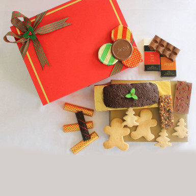 Buy Christmas and New Year Artisanal Healthy Chocolate Hamper