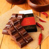 Artisanal Sea Salt Chilli Milk Chocolate Bar Set of 2