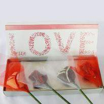 Chocolate Rose Valentine Bouquet