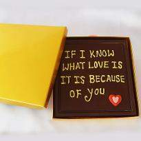 Personalized Valentine Chocolates