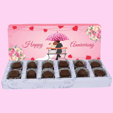 Buy Happy Anniversary chocolate