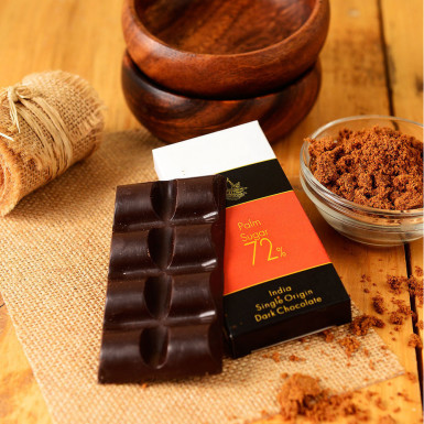 Buy Artisanal Palm Sugar Dark Chocolate Bar Set of 2