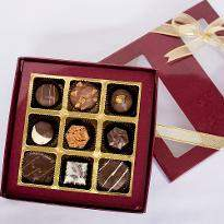 Luxury Pralines box of 9