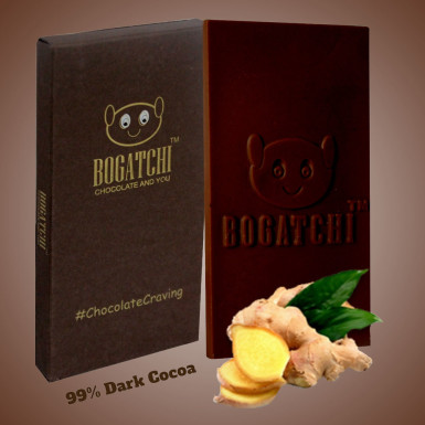 Buy Dark Cocoa Ginger Chocolate