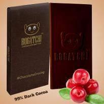 Dark Cocoa Cranberry Chocolate