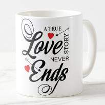 Love Never Ends Mug