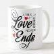 Buy Love Never Ends Mug