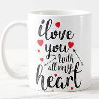 Heart Filled with Love Mug