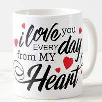 Love You Everyday Mug