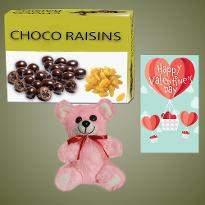 Choco Rasins with Teddy Bear