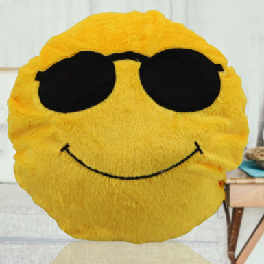 Buy Cool Dude Smiley Cushion
