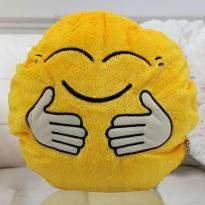 Hug Smiley Cushion