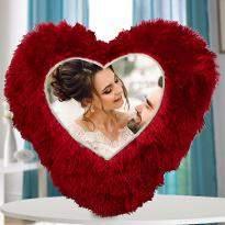 Personalised Heart Shape Cushion