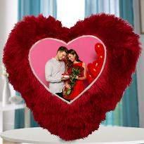 Heart Shape Photo Cushion