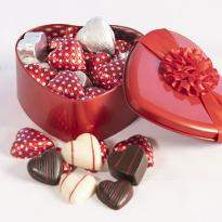Valentines Heart Divine Chocolate