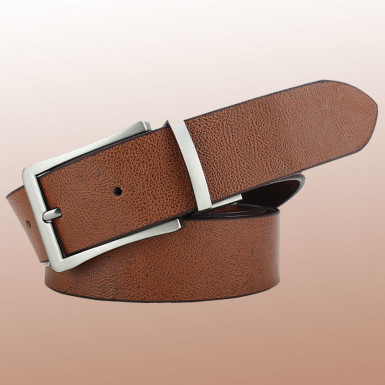 Buy Casual Brown Leather Belt