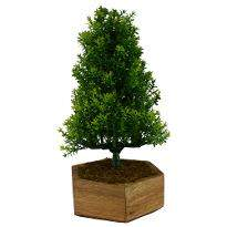 Artificial Bonsai Christmas Tree with Pot