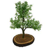 Artificial Bonsai Green Berry Plant