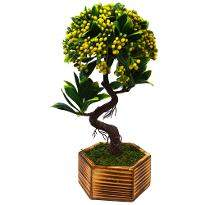Artificial Beads Bonsai with Pot