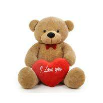 Lovely Medium Brown Teddy Bear