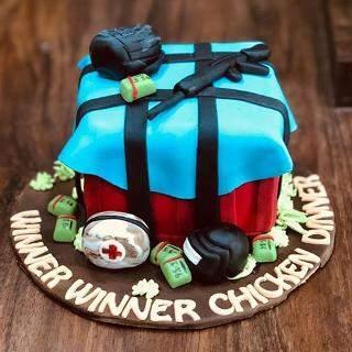 Pubg Fondant Cake Winni