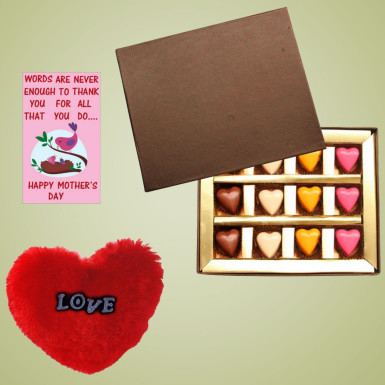 Buy Colorful Heart Chocolate for Mom