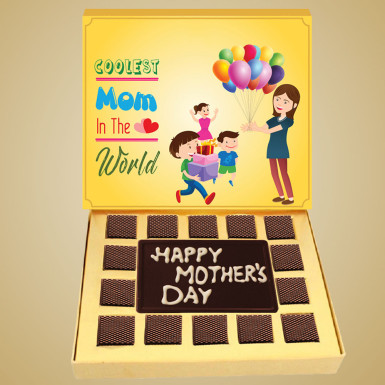 Buy Coolest Love You Mom Chocolate