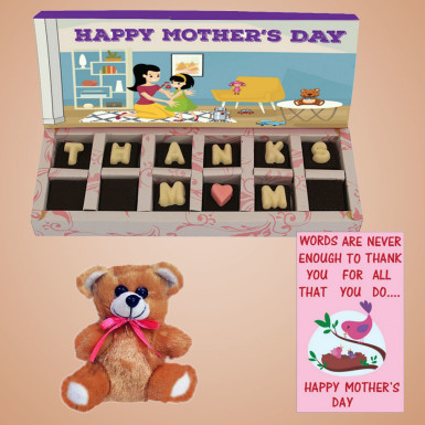 Buy Mothers Day Thanks Chocolate