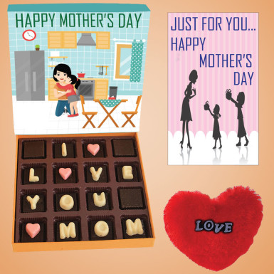 Buy Love You Mom Chocolate Box