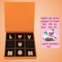 Love U Mom Chocolate Box