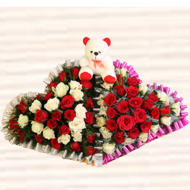 Buy Love and peace bouquet