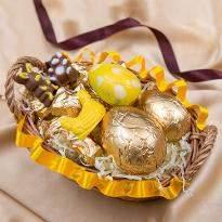 Easter Chocolate Basket