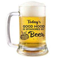 Good Mood Beer Mug